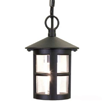 Elstead Hereford Chain Light Black