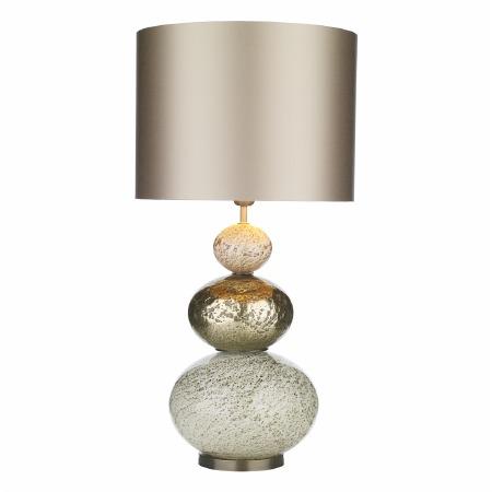 David Hunt BOA4335 Boavista Table Lamp Base Gold/Cream Glass