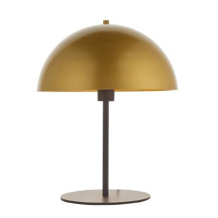 Bovington Mushroon Lamp Soft Gold and Dark Bronze