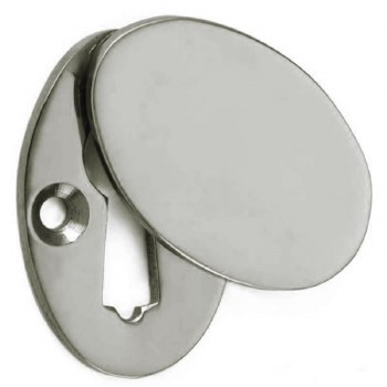 Croft Braemar Escutcheon 4561 Polished Nickel