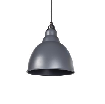 From The Anvil Brindley Pendant Light Dark Grey
