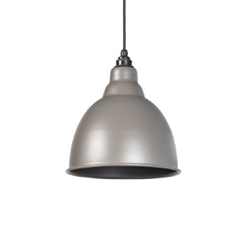 From The Anvil Brindley Pendant Light Warm Grey