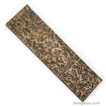Internal Letter Box Flap Country Bronze 14""