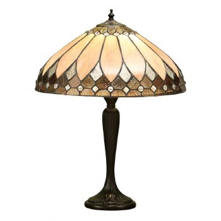 Interiors 1900 Brooklyn Tiffany Medium Table Light 63982