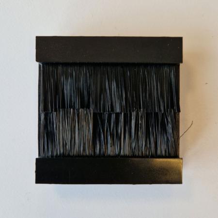 Brush Component Black 50x50mm