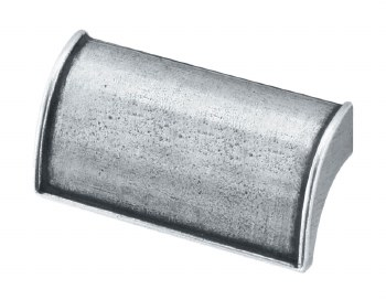 Finesse Burford Drawer Pull 72mm FD516 Solid Pewter