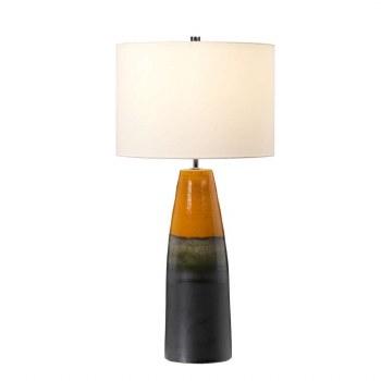 Elstead Burnt Oak Table Lamp