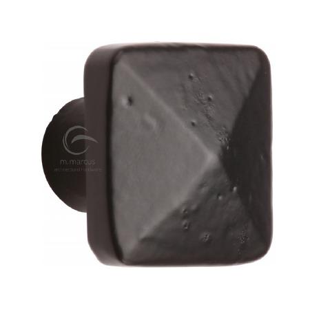 Heritage Cabinet Knob FB390 32mm Black Iron Rustic