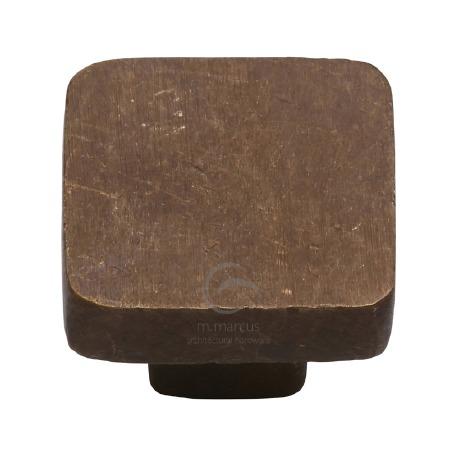 Heritage Cabinet Knob RBL3674 32mm Solid Bronze Rustic