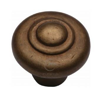 Heritage Cabinet Knob RBL3985 32mm Bronze