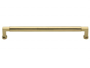 Heritage Cabinet Pull C0312 254mm Polished Brass