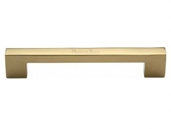Heritage Cabinet Pull C0337 152mm Polished Brass