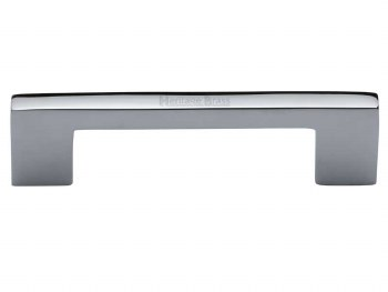 Heritage Cabinet Pull C0337 96mm Polished Chrome
