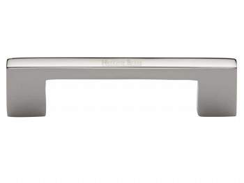 Heritage Cabinet Pull C0337 96mm Polished Nickel