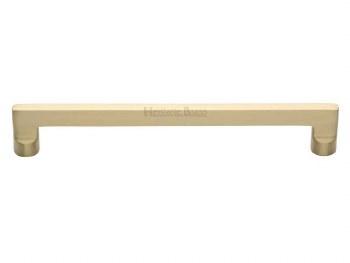 Heritage Cabinet Pull Handle C0345 203mm Satin Brass