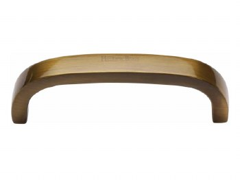 Heritage Cabinet Pull C1800 89mm Antique Brass