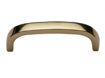 Heritage Cabinet Pull C1800 89mm Polished Brass