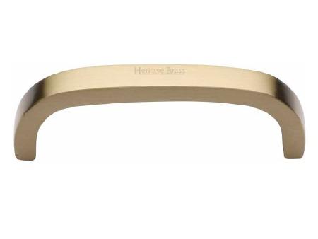 Heritage Cabinet Pull C1800 89mm Satin Brass