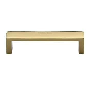 Heritage Cabinet Pull Handle C4520 101 Polished Brass