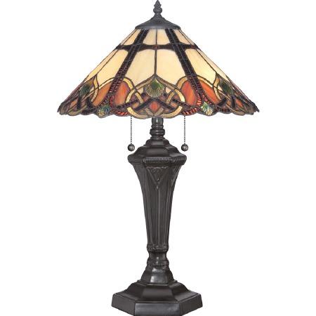 Quoizel Cambridge Tiffany Table Lamp