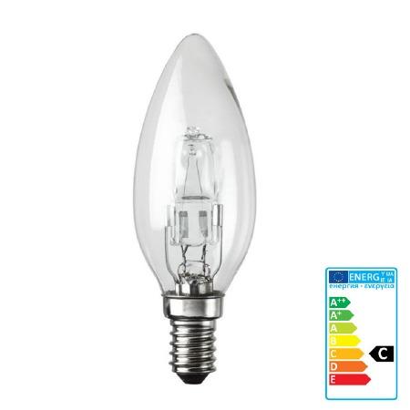 Halogen Candle Light Bulb SES 18W