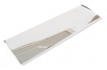 From The Anvil Large Internal Letter Box Flap Polished Chrome
