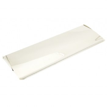 From The Anvil Large Internal Letter Box Flap Polished Nickel