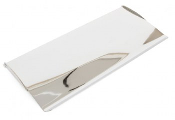 From The Anvil Small Internal Letter Box Flap Polished Chrome