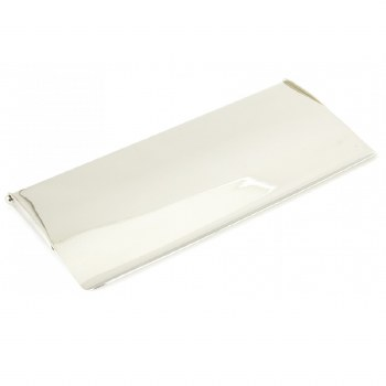 From The Anvil Small Internal Letter Box Flap Polished Nickel