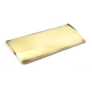 From The Anvil Small Internal Letter Box Flap Aged Brass
