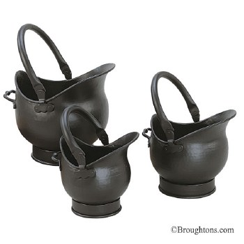 Cathedral Coal Bucket Black