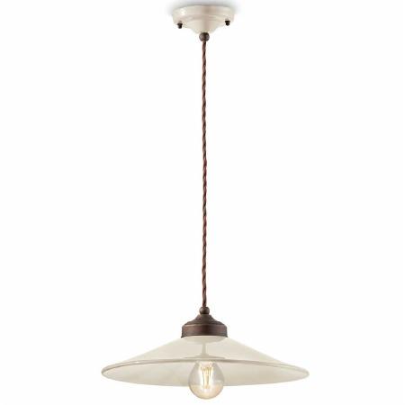 Italian Ceramic Pendant Ceiling Light C1631 Crema