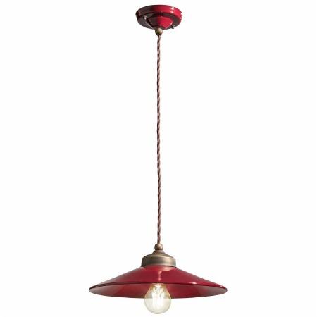 Italian Ceramic Pendant Ceiling Light C1635 Bordeaux