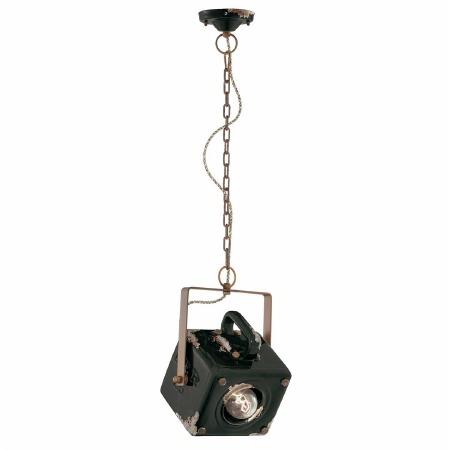 Italian Ceramic Pendant Ceiling Light C1652 Vintage Arancio