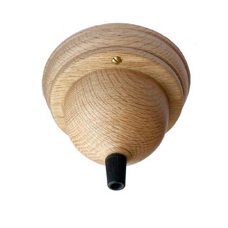 Ceiling Rose/Point for Flex CR9062/128mm Oak