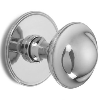 Croft Centre Door Knob 4175 Polished Chrome