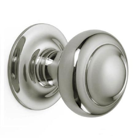 Croft Centre Door Knob 6344 Polished Nickel