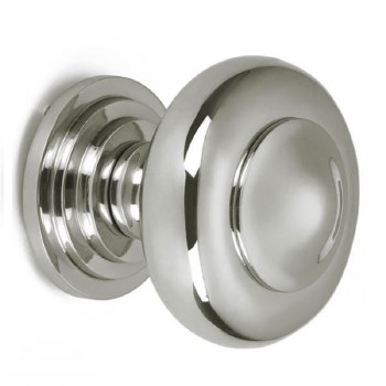 Croft Centre Door Knob 6345 Polished Nickel
