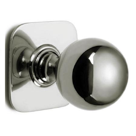 Croft Centre Door Knob 6406 Polished Nickel