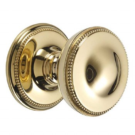 "Regency Princess 900/1Centre Door Knob 3"" Polished Brass Unlacquered"