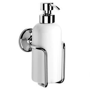 Samuel Heath N47 Ceramic Soap Dispenser Polished Chrome
