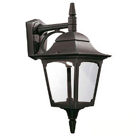 Elstead Chapel Outdoor Wall Downlight Lantern Black