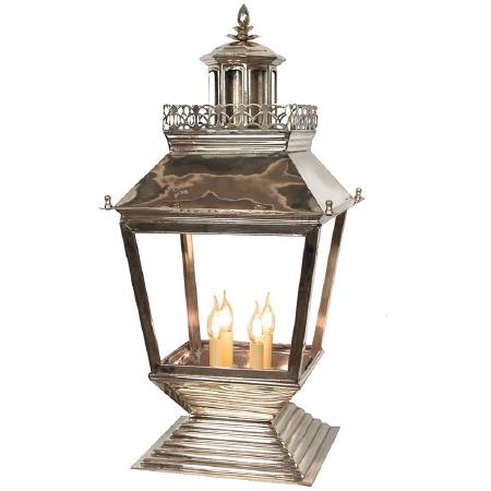 Chateau Large Pedestal Light Nickel