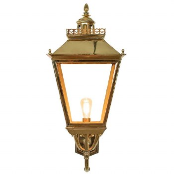 Chateau Large Outdoor Wall Light Polished Brass