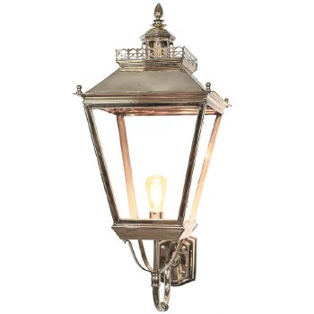 Chateau Large Outdoor Wall Light Polished Nickel