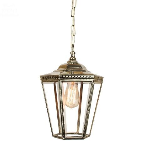 Chelsea Small Pendant Lantern Nickel