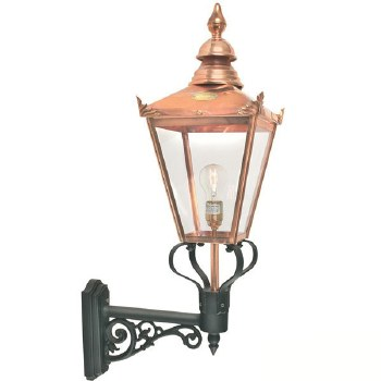 Elstead Chelsea Grande Large Outdoor Wall Light Lantern with Bracket