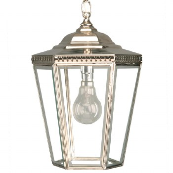 Chelsea Small Pendant Lantern Nickel