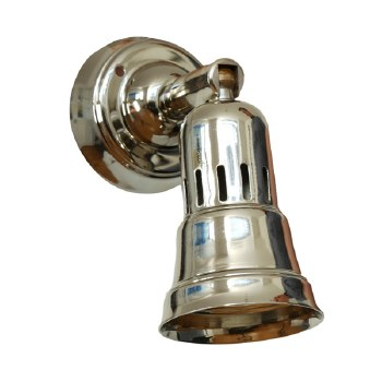 Broughtons Cherry Single Spot Light Polished Nickel