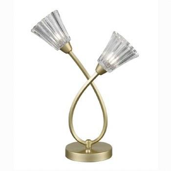 Clementine Table Lamp Matt Gold
